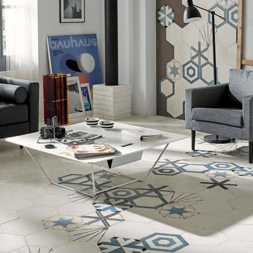 Hexagonal Porcelain Tiles
