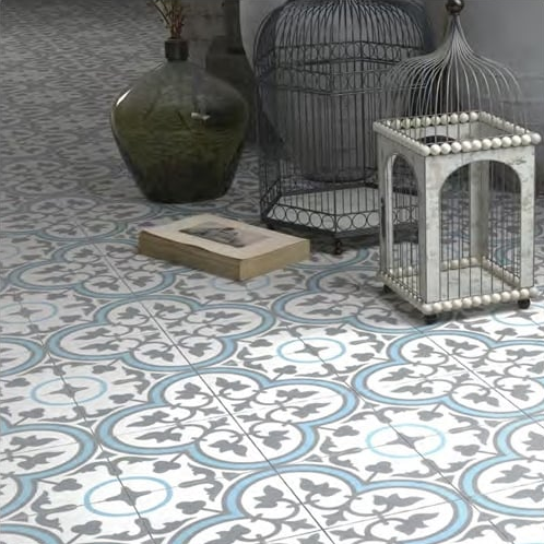 How To Hijack Encaustic Tile Trends In Tiles Direct - Faux encaustic tile