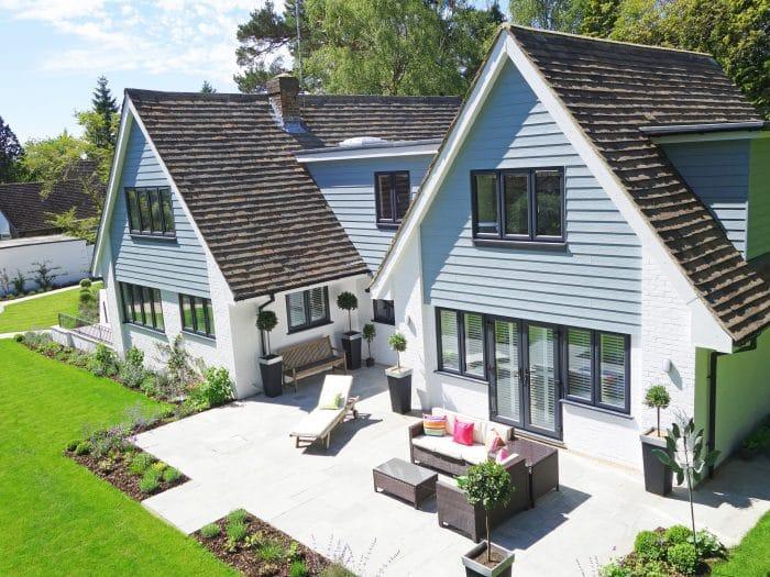 Home garden space
