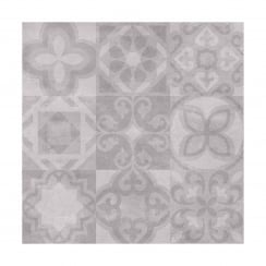 Alfred Grey 49.8cm x 49.8cm Floor Tile