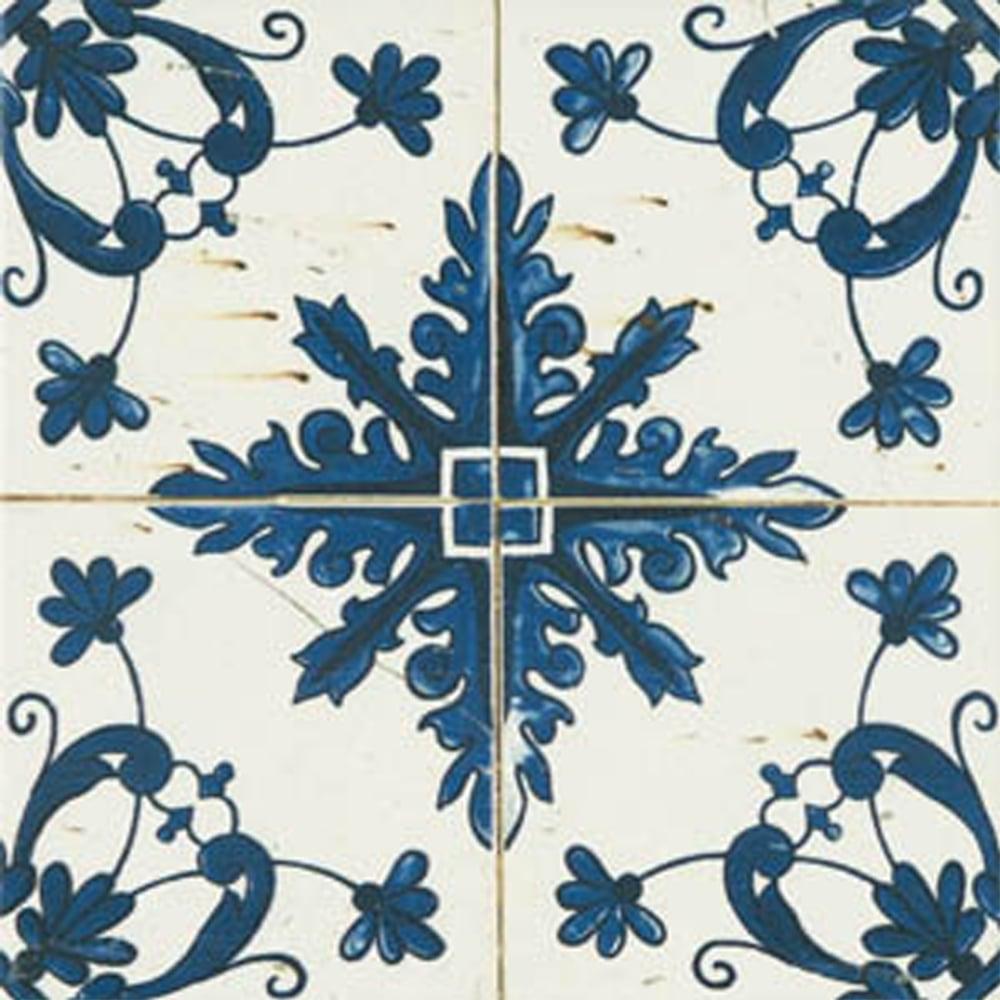 Aramean Matt Beige Pattern 20cm x 20cm Wall Tile