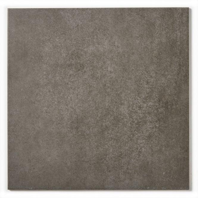 Area Anthracite 40cm X 40cm Matt Porcelain Floor Tile