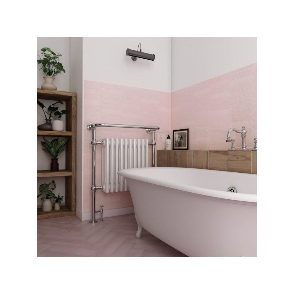 Arrow Pink 5cm X 25cm Wall Tile