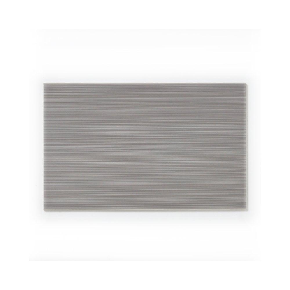 bright linear grey 24 8cm x 39 8cm wall tile