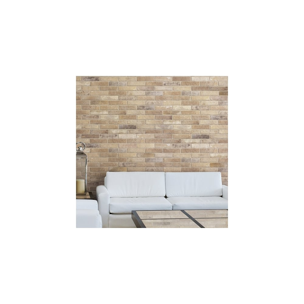 Cream brick 6cm x 25cm wall floor tile per box bristol cream brick 6cm x 25cm wall floor tile per box doublecrazyfo Images