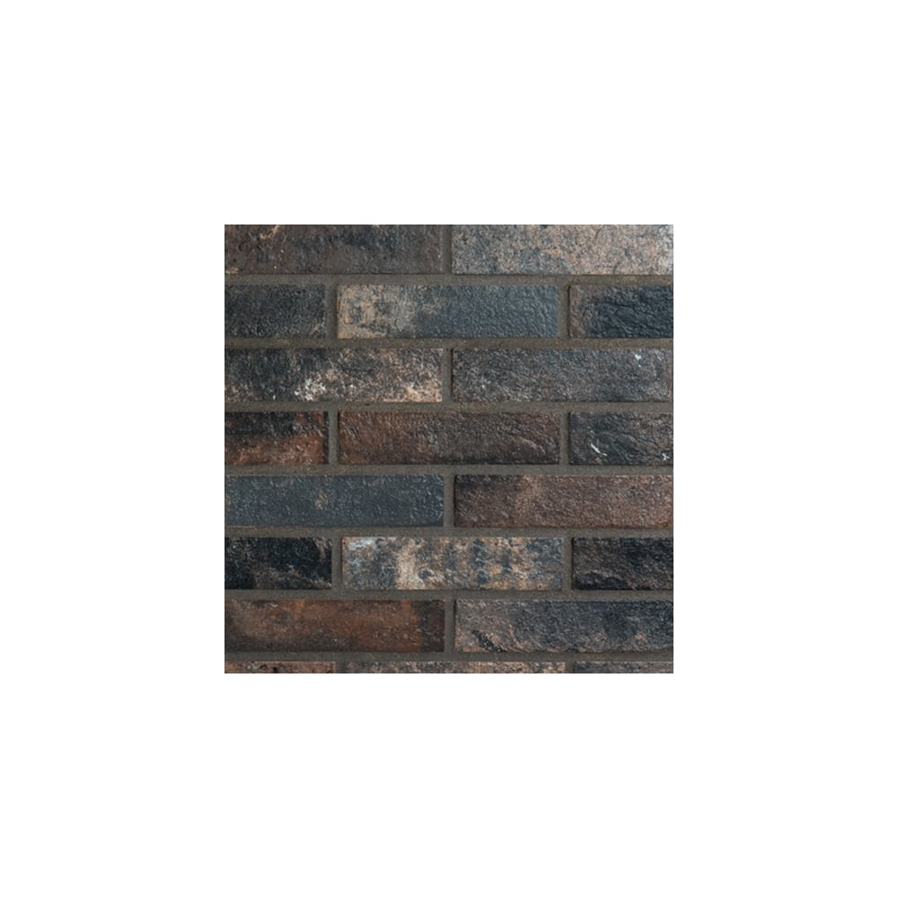 Dark brick 6cm x 25cm wall floor tile per box bristol dark brick 6cm x 25cm wall floor tile per box doublecrazyfo Images
