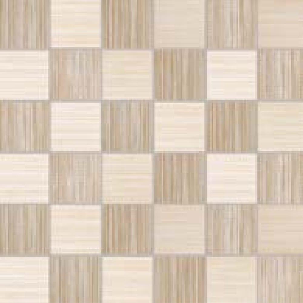 Canvas Mosaic Cream 33cm X 33cm Wall Tile