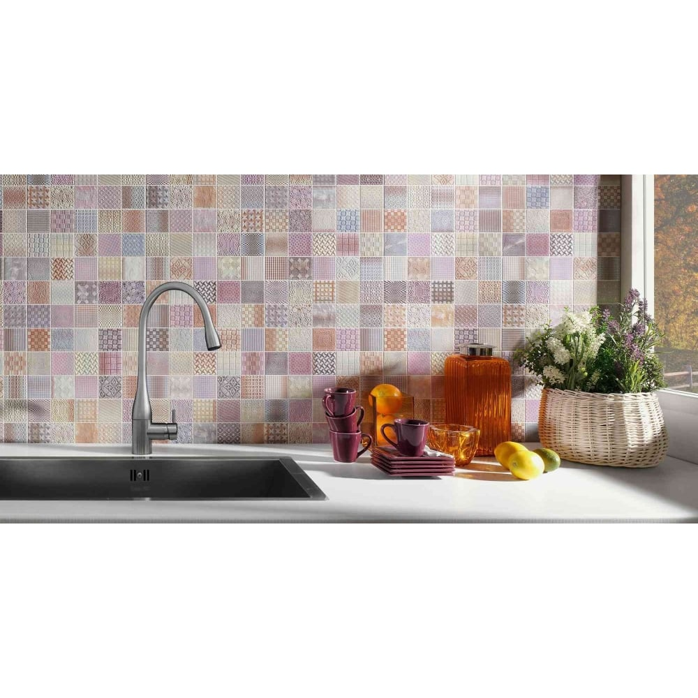 Fabric 33cm x 33cm wall tile cardiff fabric 33cm x 33cm wall tile dailygadgetfo Image collections