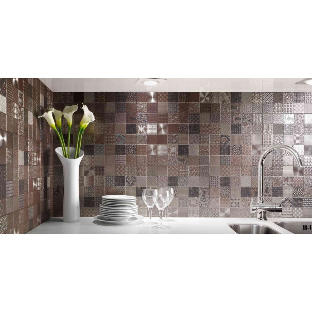 Metal 33cm x 33cm wall tile cardiff metal 33cm x 33cm wall tile dailygadgetfo Image collections