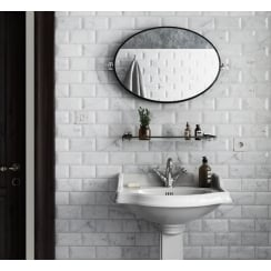 Carrara Matt Flat 7.5cm x 15cm Wall Tile