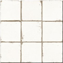 Casablanca White Base 33cm x 33cm Wall & Floor Tile