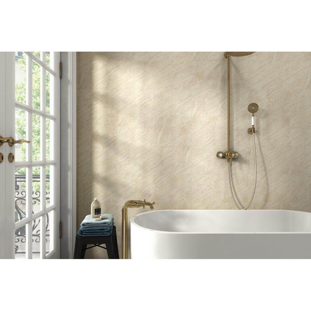 Cream 20cm x 50cm wall floor tile darwin cream 20cm x 50cm wall floor tile doublecrazyfo Image collections