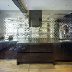 Glass Mirror Tiles