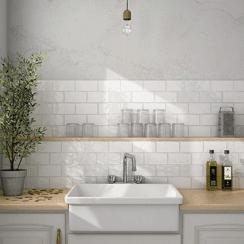 Metro Tiles For Kitchen Bathroom Walls Subway Style