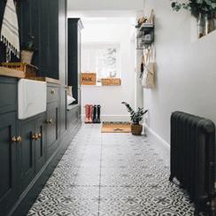 Porcelain Floor Tiles For Kitchens Amp Bathrooms In White