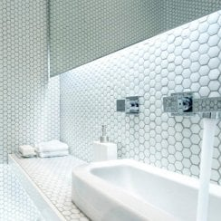Hexagon Mosaic Tiles Buy Online For Free Delivery On Orders Over 499