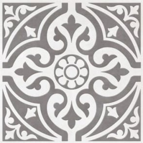 Devonstone Grey Feature 33.1cm x 33.1cm Floor Tile
