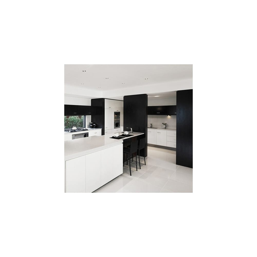 Extreme White 80cm X 80cm Polished Porcelain Floor Tile