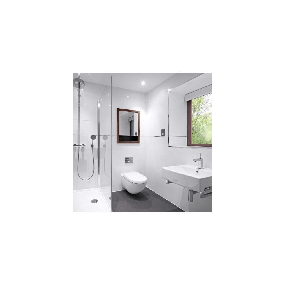 Extreme White Polished Porcelain 30cm X 60cm Wall Floor Tile