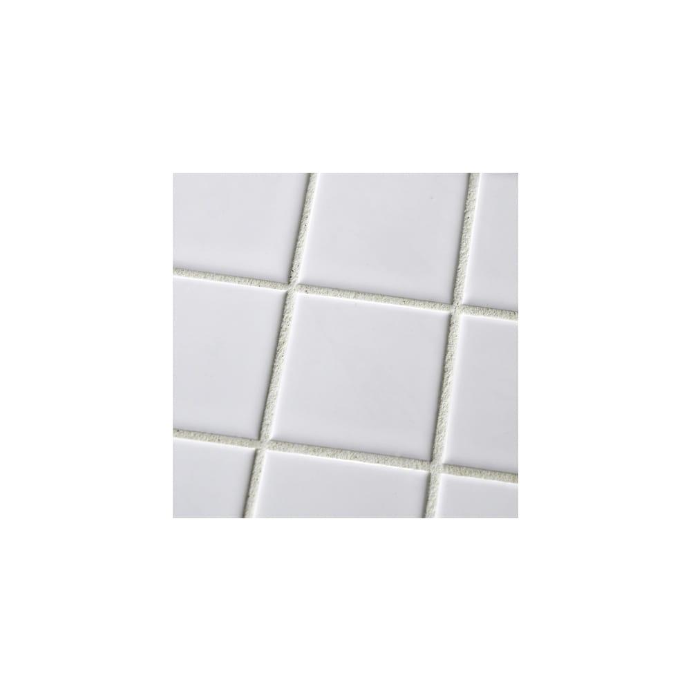 Gloss White Square Large 30cm X 4 8cm Wall Floor Tiles