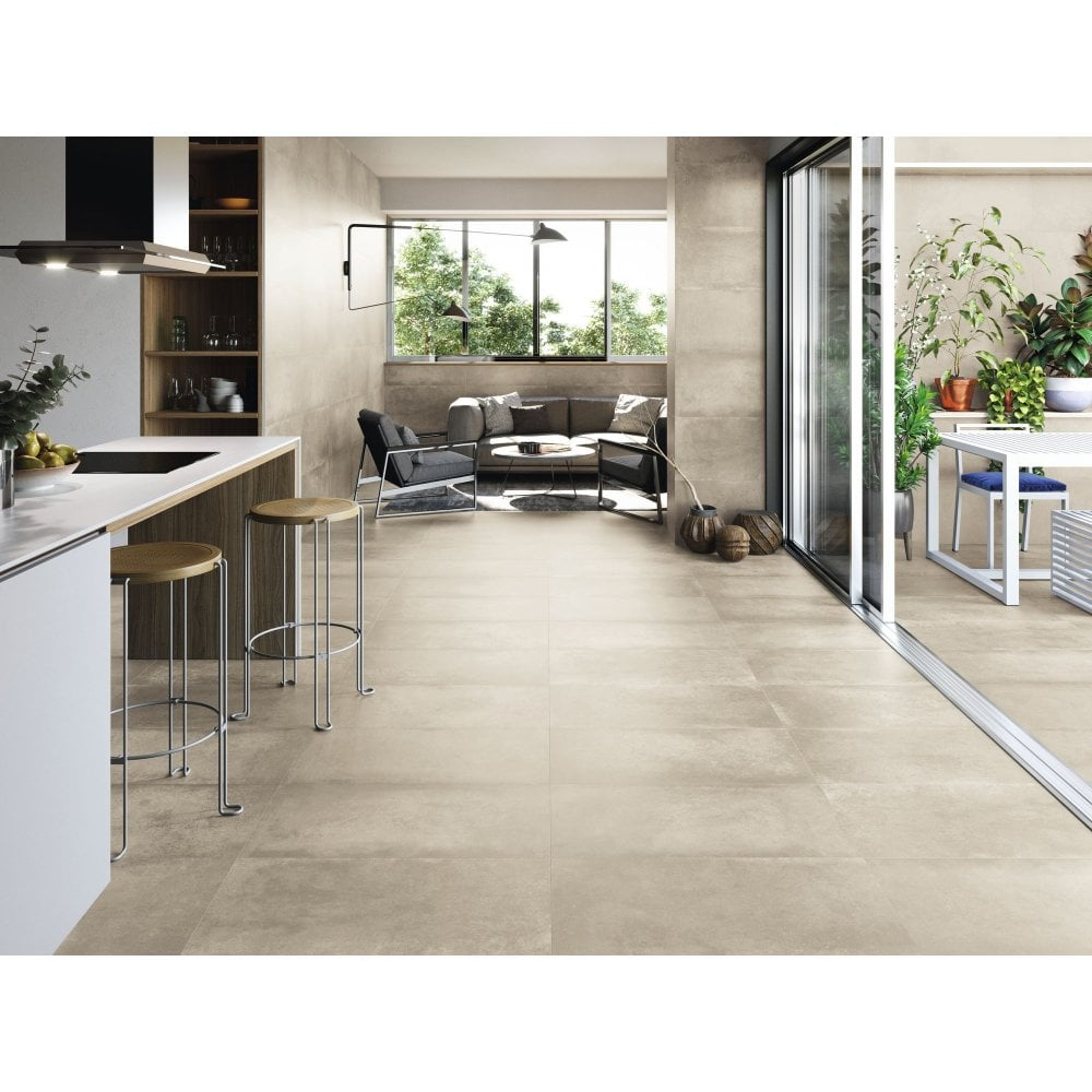 Grafton Ivory 40cm X 80cm Wall Floor Tile