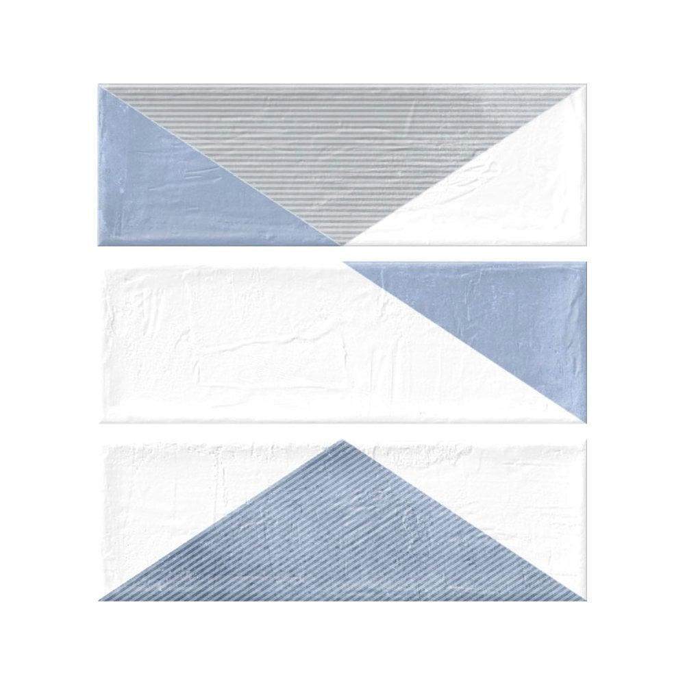 Harlequin Blue 11cm X 33cm