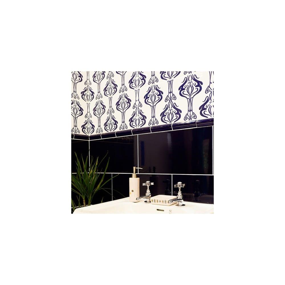Home Decor Wall Tiles : Hemingway blue decor cm wall tile