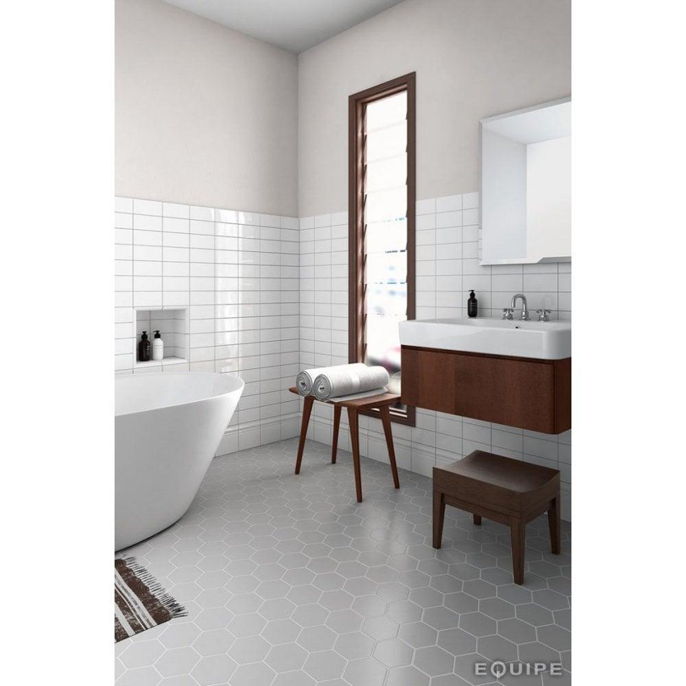 11 6cm X 10cm Porcelain Floor Tile