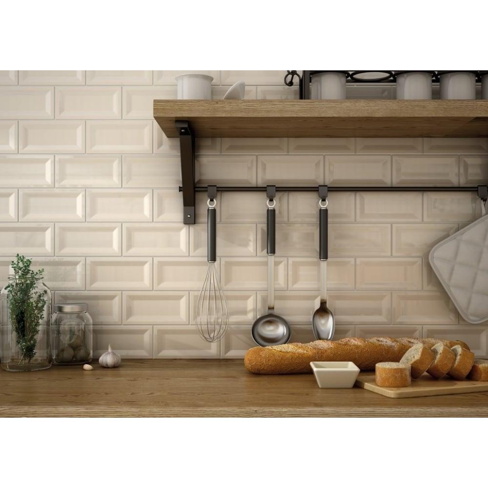 Cream gloss 75cm x 15cm wall tile inmetro cream gloss 75cm x 15cm wall tile dailygadgetfo Gallery