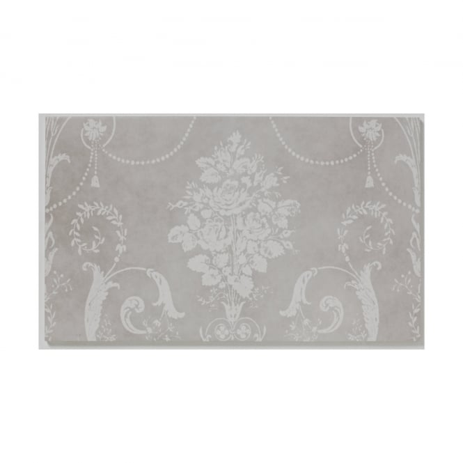 Josette Dove Grey Decor A 29.8cm x 49.8cm Wall Tile