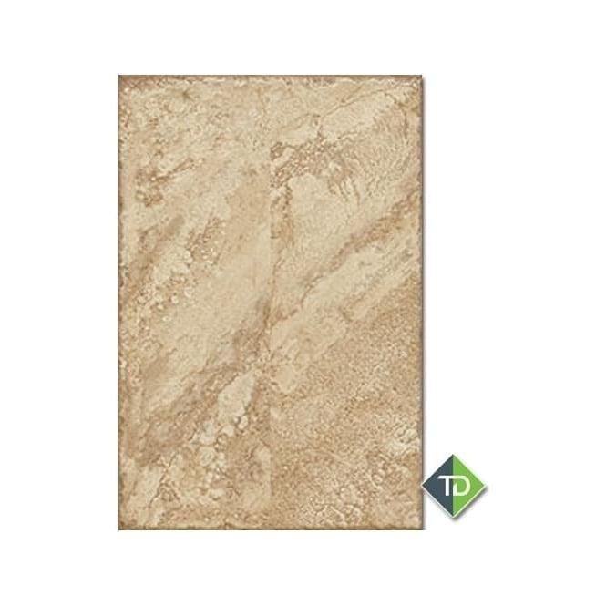 Tumbled Noce Stone Effect Travertine Wall Tile Pack Of 15: Kalahari Noce 60cm X 40cm Wall & Floor Tile
