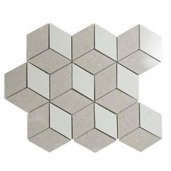 Lounge Cubis Mosaic Polished (34cm x 29.4cm) Wall & Floor Tile