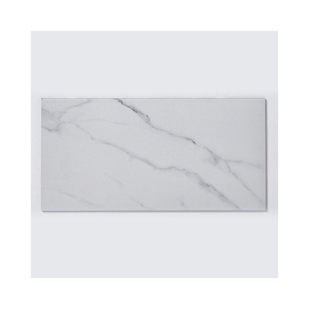 Matt Carrara Marble Effect 30cm X 60cm Wall Floor Tile