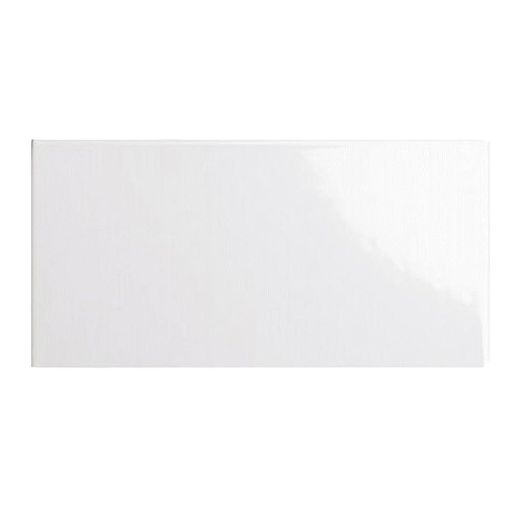 Metro Brick Flat White 7 5cm X 15cm Wall Tile