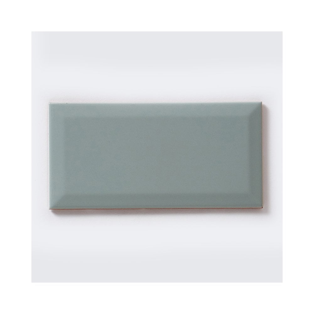 Metro Brick Gloss Duck Egg 10cm x 20cm Wall Tile