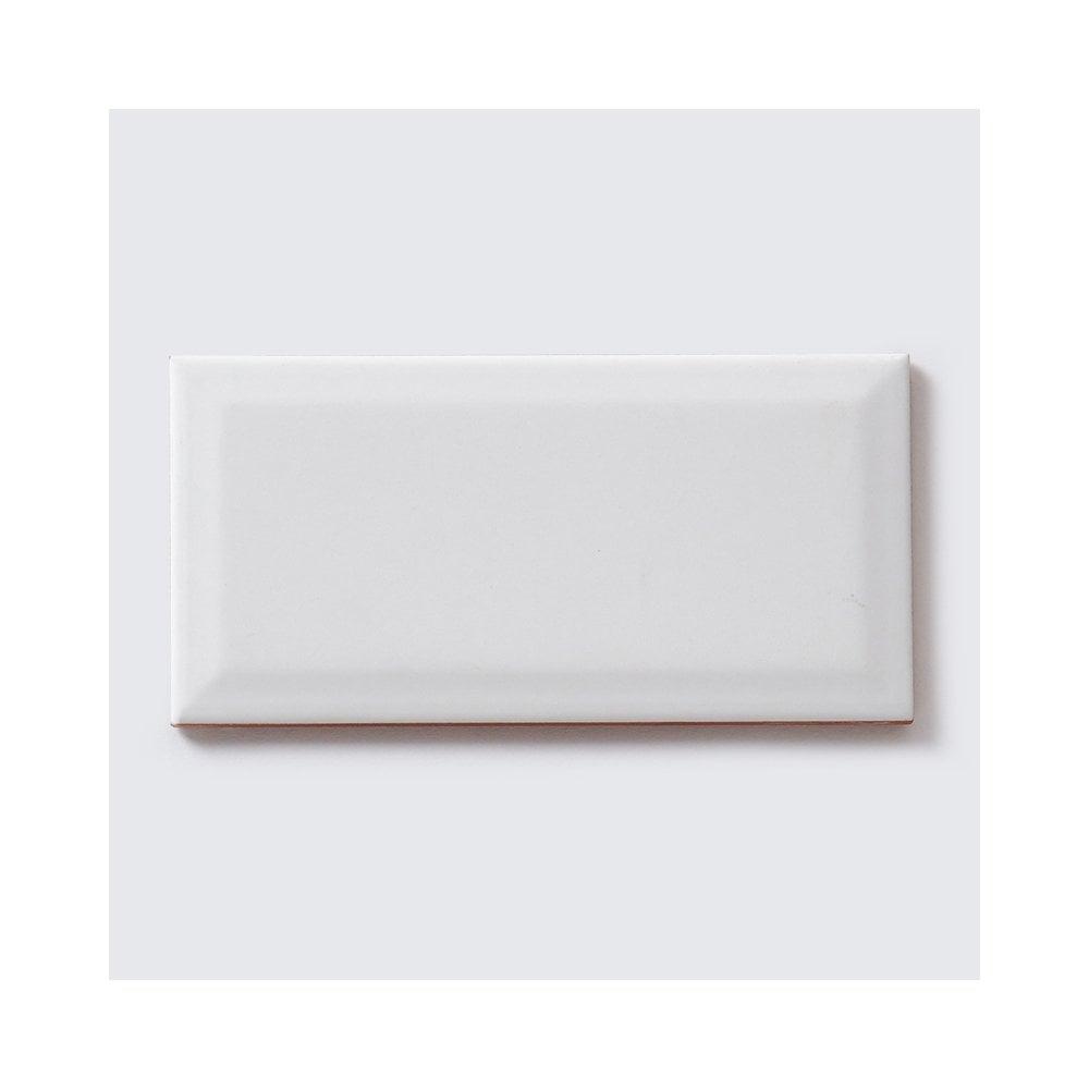 Matt White Wall Tile 20x40: Metro Brick Matt White 10cm X 20cm Wall Tile