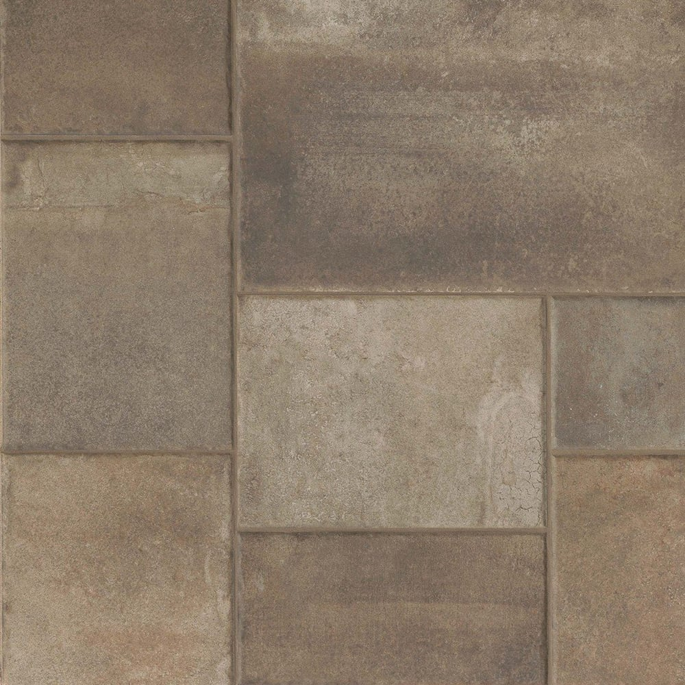 Native Modular Dark 615cm X 123cm Floor Tile Per Box