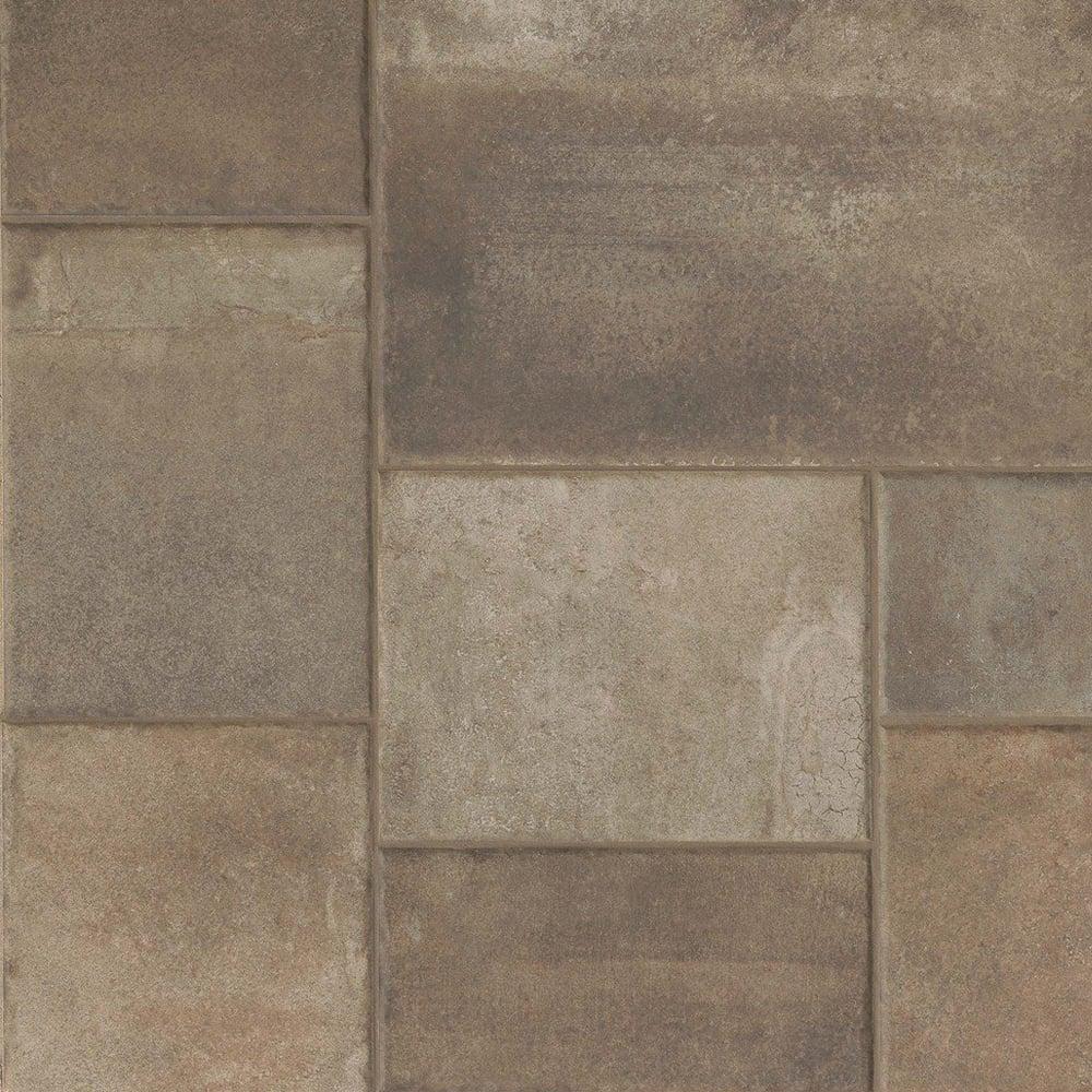 Native Modular Dark 61.5cm x 123cm Floor Tile PER BOX