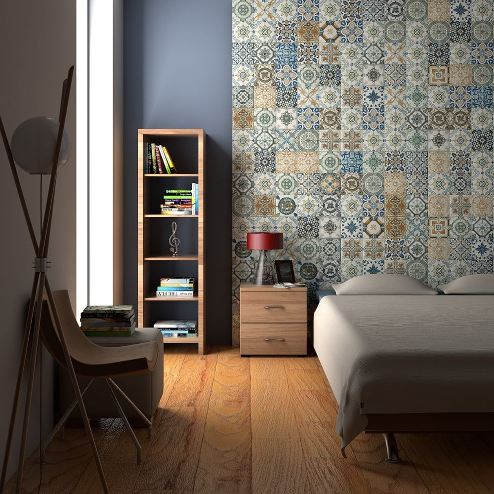 Nikea Tiles for Walls – Retro Style Wall Tile