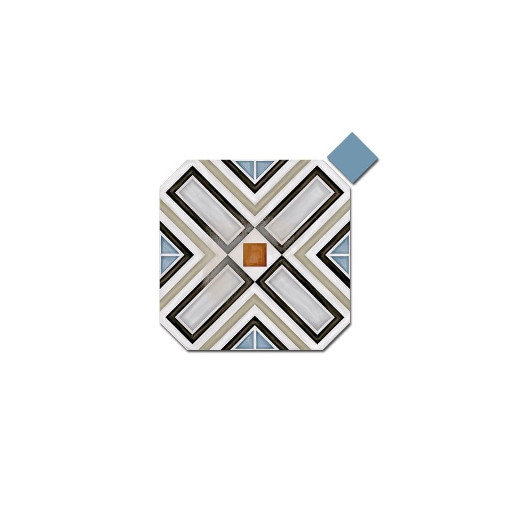 Octagon Ritter Multicolor 20cm X 20cm Amp Taco Dome Nube 4cm