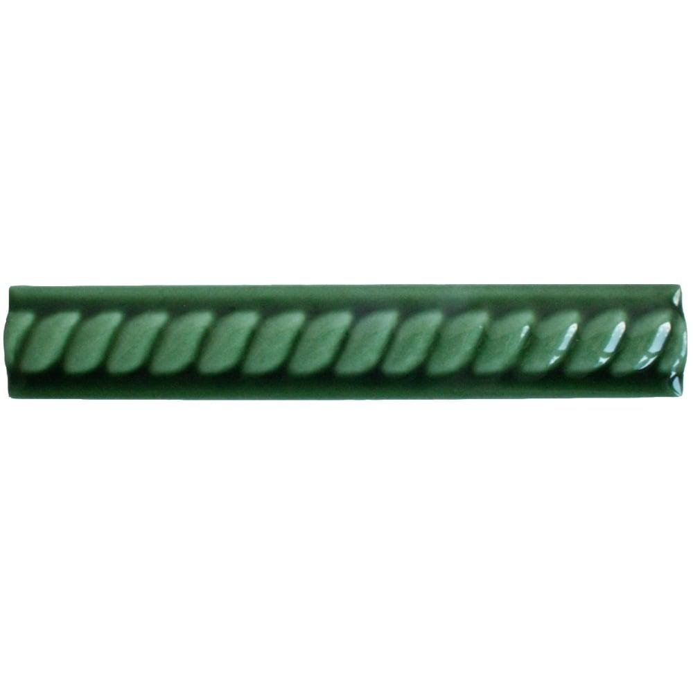 Rope Victoria Green 2.7cm x 15cm Border Tile