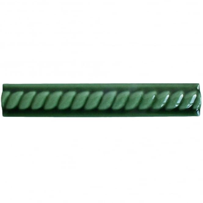 Original Rope Victoria Green 2 7cm X 15cm Border Tile