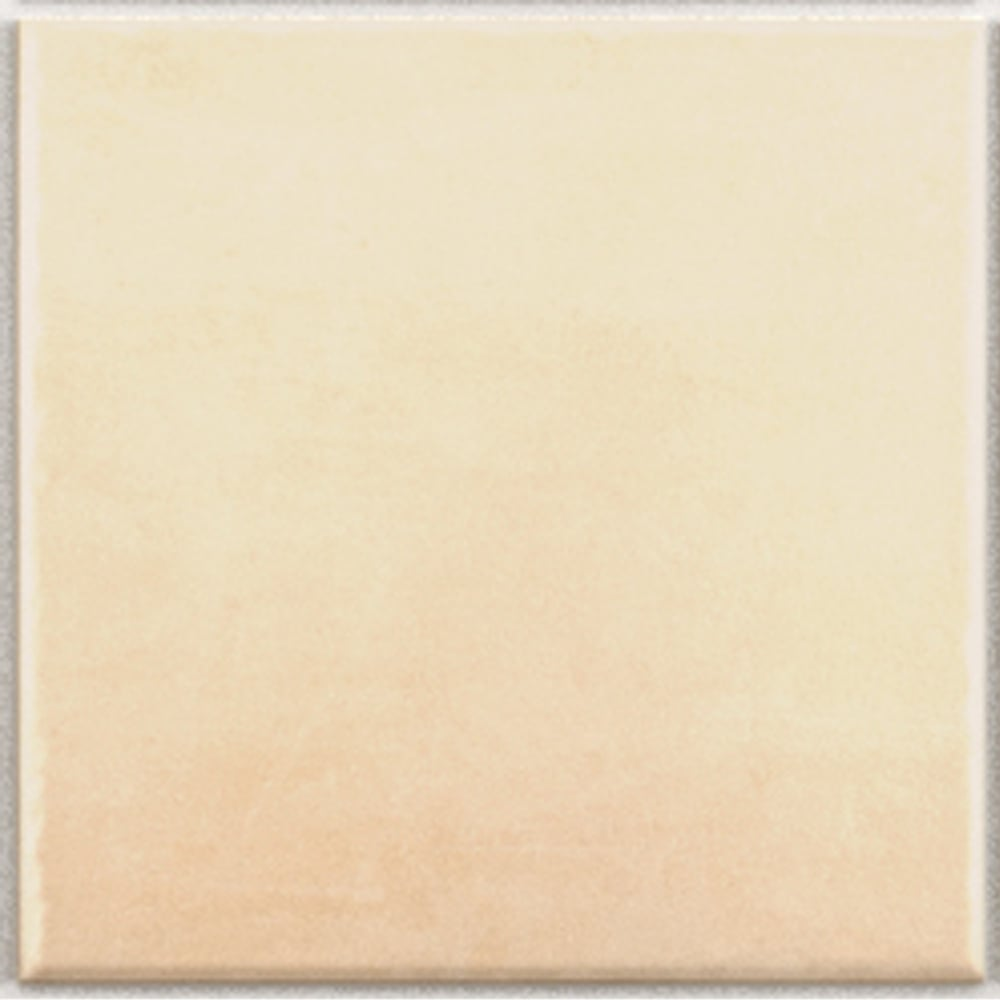 Kitchen Wall Tiles Ivory: Plain Ivory 15cmx X 15cm Wall & Floor Tile