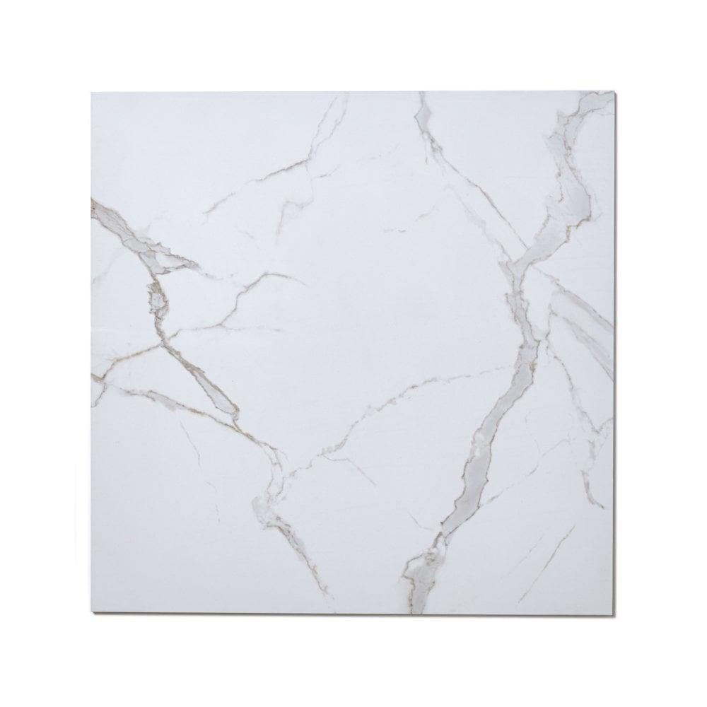 Rectified Calacatta Polished 60cm X 60cm Wall Amp Floor Tile