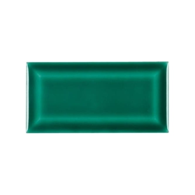 Retro Metro Emerald 7 5cm X 15cm Wall Tile