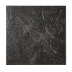 Slate Effect Charcoal 33cm X Floor Tile