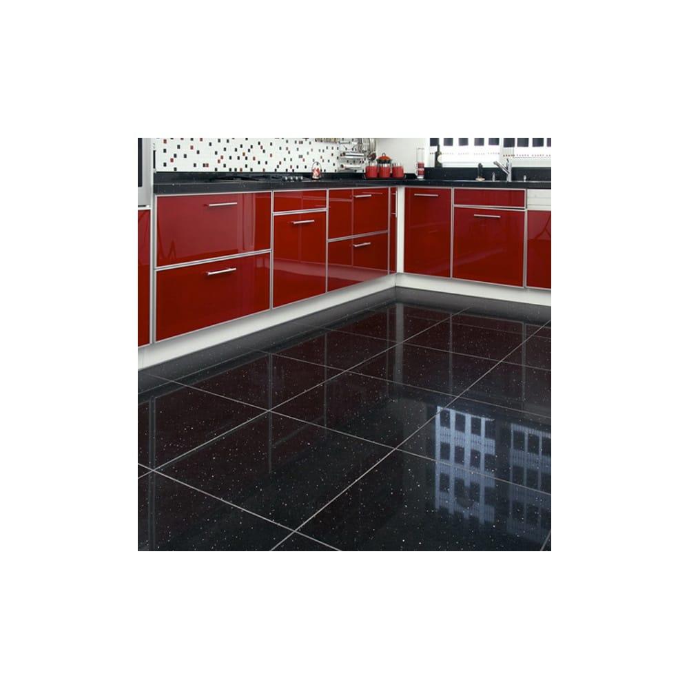 Stardust Black 30cm X 30cm Floor Tile
