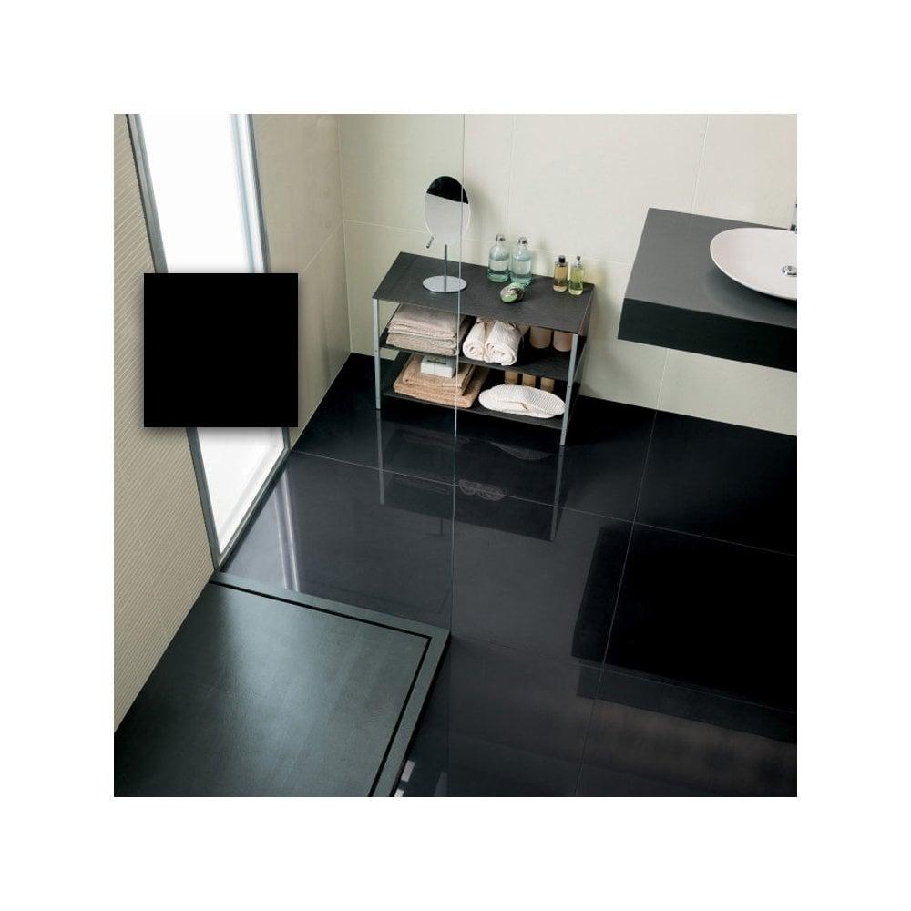Super Black Polished Porcelain 60cm X