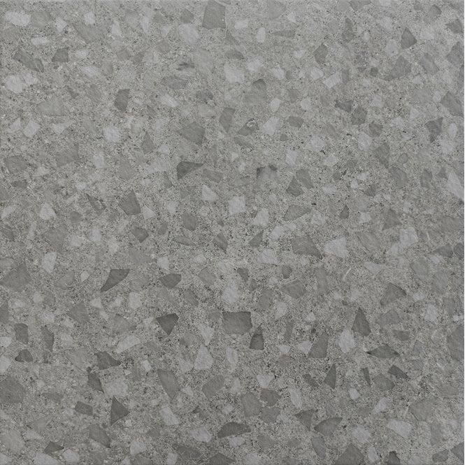 Terrazzo Grey Marble Effect Porcelain 45cm X 45cm Wall