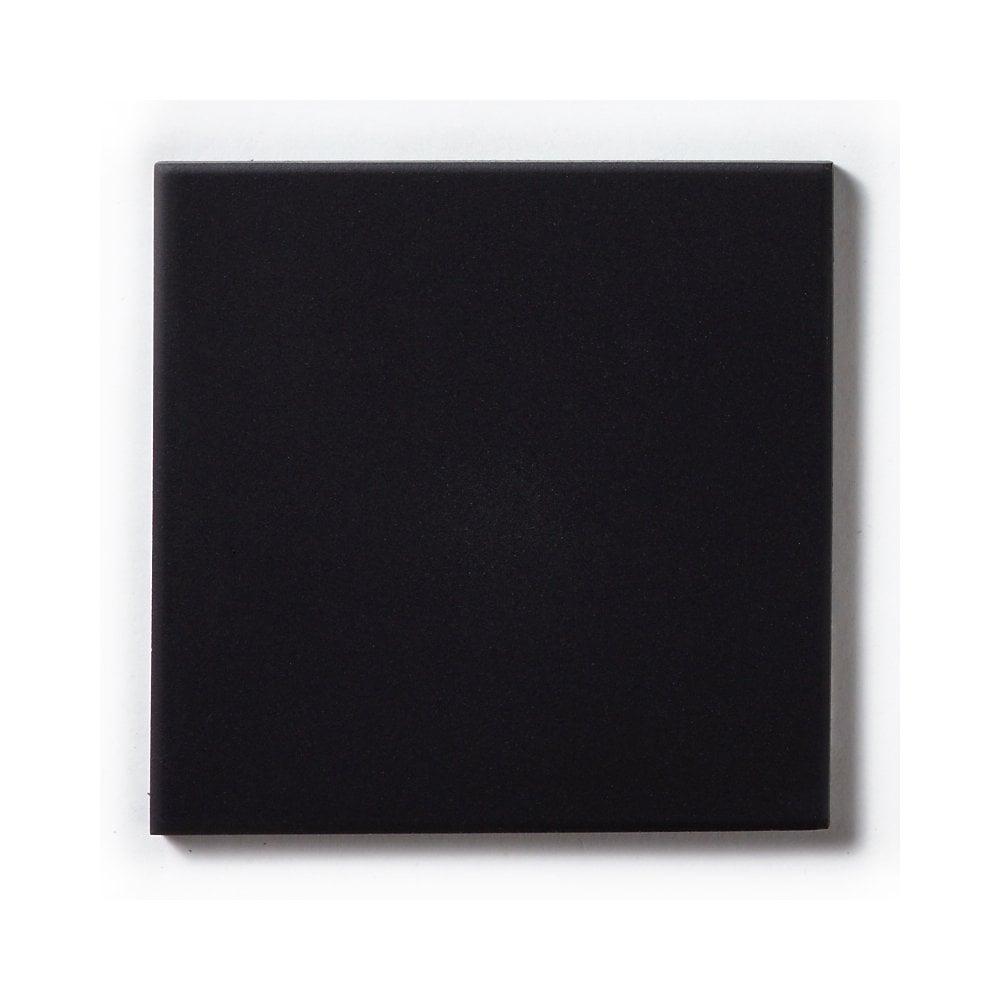 Unglazed Black Quarry 14 6cm X 14 6cm Floor Tile